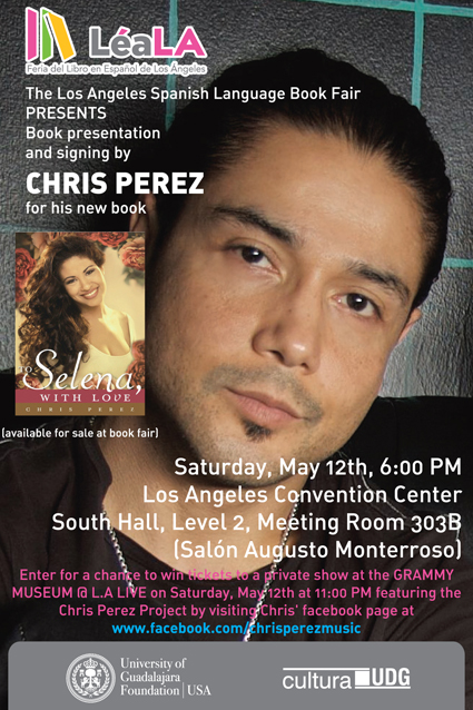 chris perez project Perez has been flying that flag high since his last project, the chris perez band, released resurrection, which took home a grammy for best latin rock/alternative album in 2000.