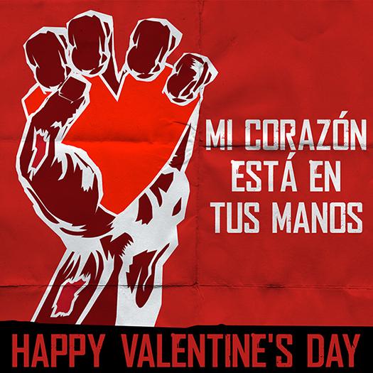WARM BODIES Spanish Valentines Day Cards Entertainment Affair – Valentines Cards in Spanish