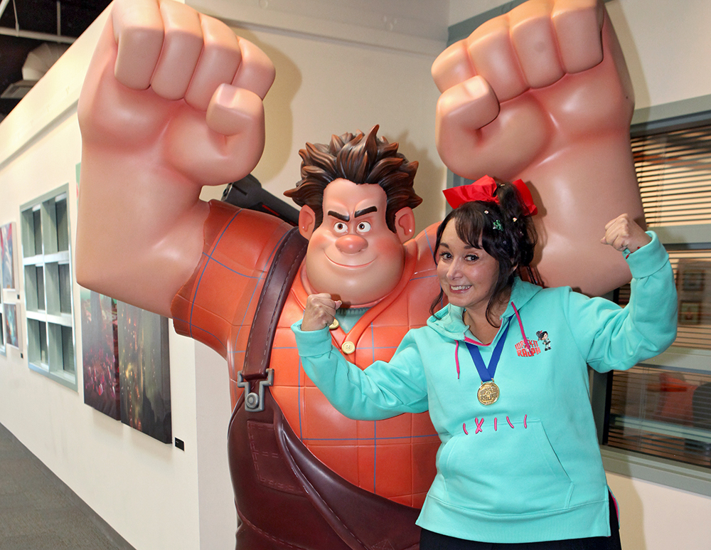 Maria Antonieta De Las Nieves at the Walt Disney Animation Studios