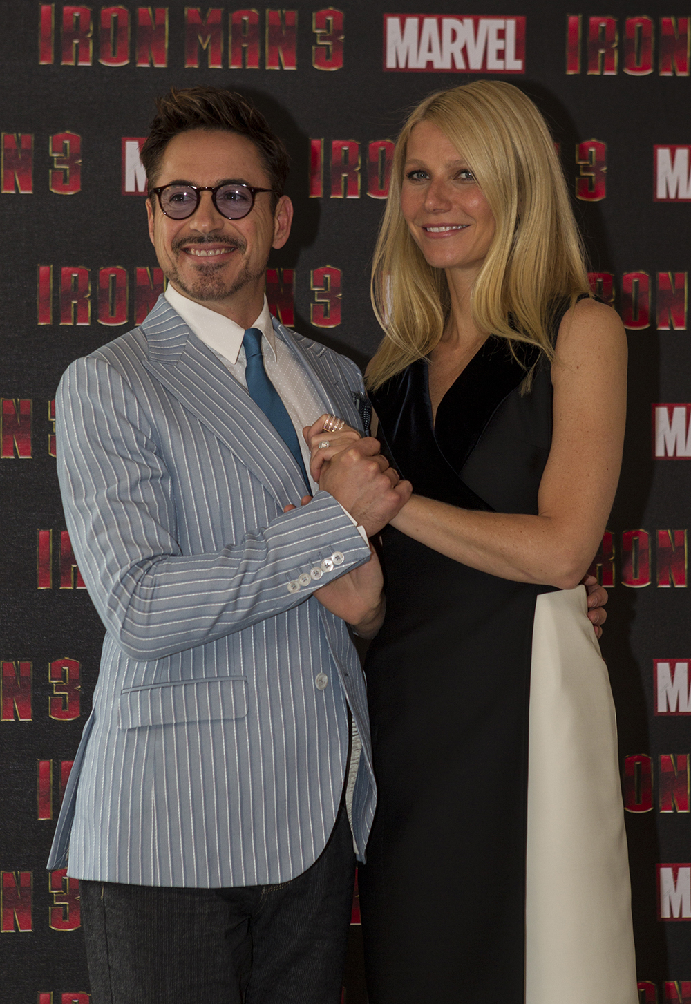 Iron Man 3 Press Conference and Photocall