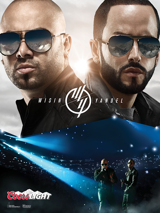 COORS LIGHT WISIN & YANDEL