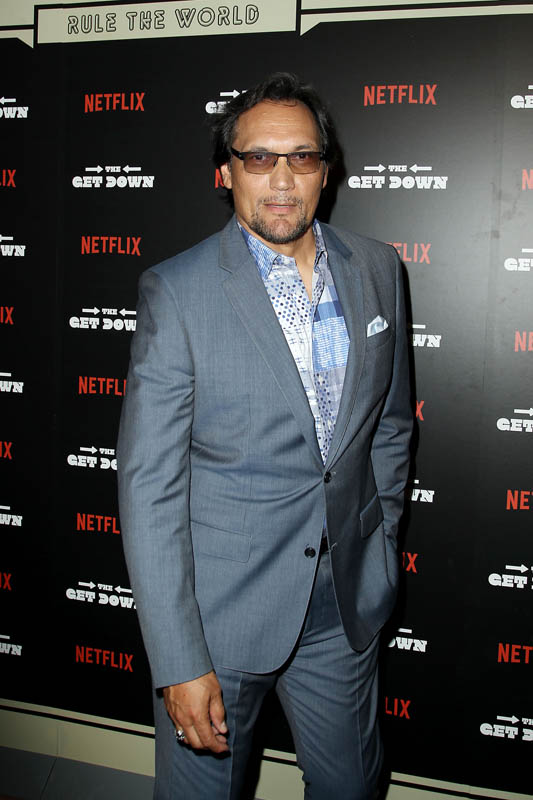 "-  New York, NY - 8/11/16 - The Official Premiere of the Netflix Original Series ""The Get Down""  -Pictured: Jimmy Smits -Photo by: Patrick Lewis/Netflix"