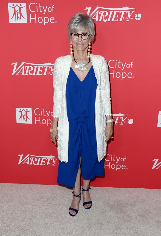 Mandatory Credit: Photo by Stewart Cook/Variety/REX/Shutterstock (6035117k) Rita Moreno Power of Latino, Arrivals, Los Angeles, USA - 28 Sep 2016