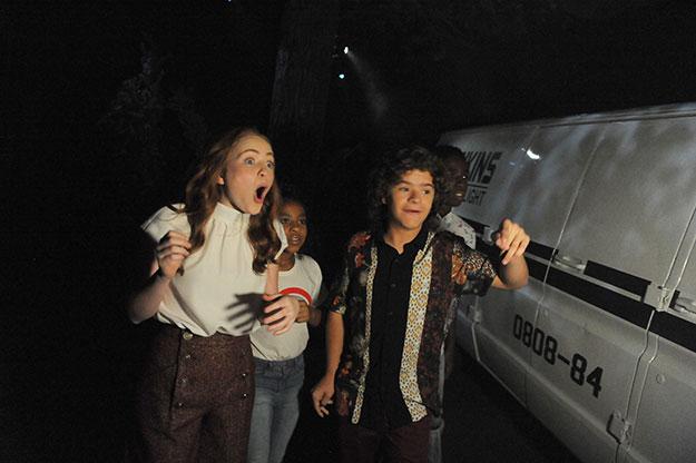 "Netflix's ""Stranger Things"" Cast Visit ""Halloween Horror Nights"